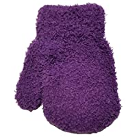 Raintopia Baby Toddler Unisex Feather Soft Mittens Cosy Feel Thermal Assorted Colours Warm - Purple