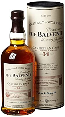 Balvenie 14 Jahre Carribean Cask Single Malt Whisky (1 x 0.7 l)