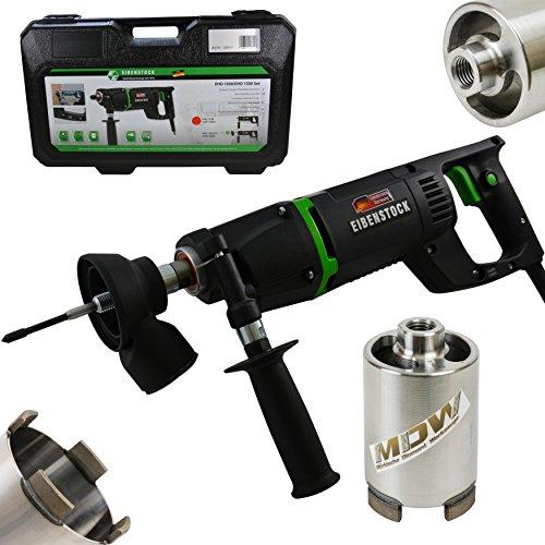 Eibenstock Trockenbohrmaschine EHD1500 inklusive Staubabsaugung & Diamant Dosensenker Laser Dach