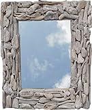 Guru-Shop Treibgut-Spiegel, 60x50x5 cm, Spiegel
