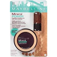 Maybelline New York Mineral Power Natural Perfecting Powder Foundation, Nude, Light 4, 2 Ea by Unknown