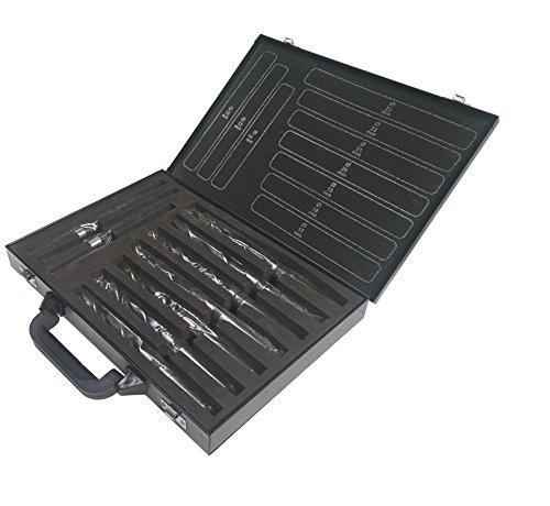 10 tlg. Konusbohrer Metallbohrer SET 14,0 mm - 23,0 mm Morsekegel DIN 345 Spiralbohrer HSS