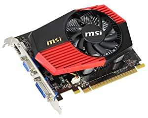 MSI N430GT-MD2GD3 OC Carte graphique Nvidia Geforce gt 430 700 Mhz PCI-Express 16x 2048 Mo