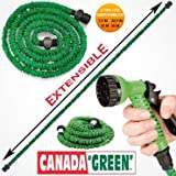 Tuyau Magique extensible + Douchette Canada Green 30 m