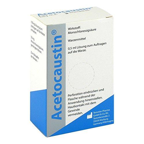 Acetocaustin Lösung 0.5 ml