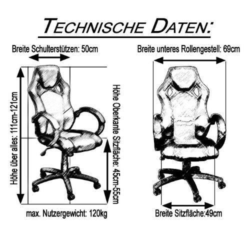 Terena Premium Zocker Stuhl - 6