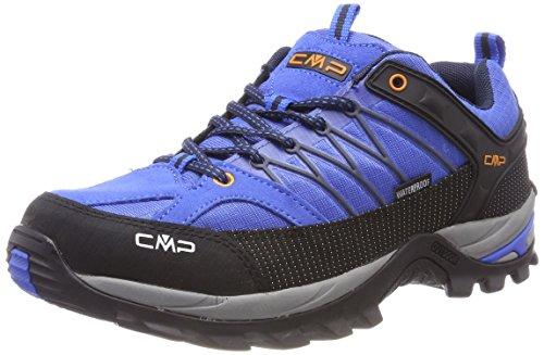 CMP Campagnolo Herren Rigel Trekking-& Wanderhalbschuhe, Blau (Zaffiro-Antracite), 44 - Boot-männer Wasserdichte