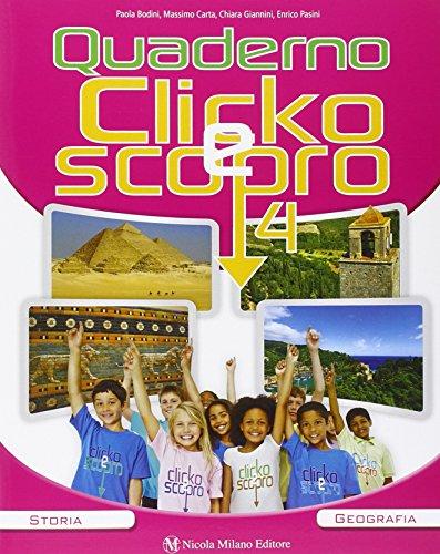 Clicko e scopro. Quaderno degli esercizi. Per la Scuola elementare. Con e-book. Con espansione online: 1