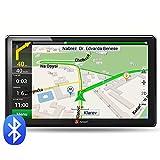 Junsun 7 zoll GPS Navigator 8GB/256M DDR/800MHZ mit kostenlosen lebenslangen Kartenupdates für 48 Länder Europas (Bluetooth)