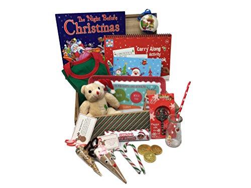 Kind Deluxe Santa (Christmas Eve Box Deluxe für Kinder mit Santa Mädchen, Alter 5-6Jahre)