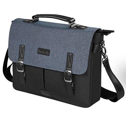 Inateck Borsa a tracolla stile messenger per laptop 14 pollici, MacBook Pro 15 pollici borsa a spalla zaino, LB1405