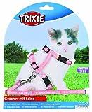 Trixie 4181 Kätzchen-Garnitur, Kätzchen/kleine Katzen Nylon, 21-33 cm/8 mm, Farblich Sortiert