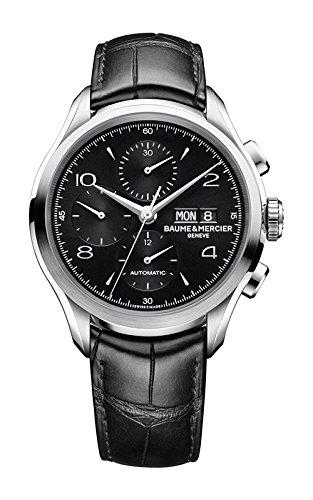 Baume e Mercier Clifton uomo cronografo orologio automatico 10211