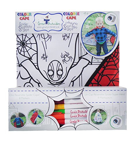 Creative Education Cape Spider Super Hero -