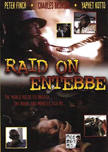 Raid on Entebbe by Peter Finch;Charles Bronson;Yaphet Kotto;Martin Balsam;Horst Buchholz;John Saxon;Jack Warden;Sylvia Sidney;Robert Loggia;Tige Andrews;Eddie Constantine;David Opatoshu