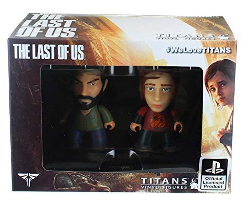 The Last Of Us 3' Titans Vinyl Figures (Joel + Ellie)