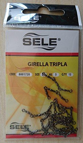SELE 12x emerillones Triple Mis 20kg 5emerillón Triple