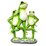 Grenouille de Famille debout Figurine Statue de jardin grenouille