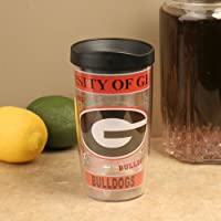 NCAA Tervis Tumbler Georgia Bulldogs 16oz. Wrap Travel Tumbler with Lid by Tervis