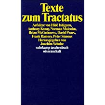 Suhrkamp Taschenbuch Wissenschaft Nr. 771: Texte zum Tractatus : Aufsätze