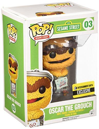 Sesame Street Pop Figure: Oscar Naranja