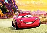 Olimpia Design Fototapete Disney Cars Road Trip, 1 Stück, 10612P4