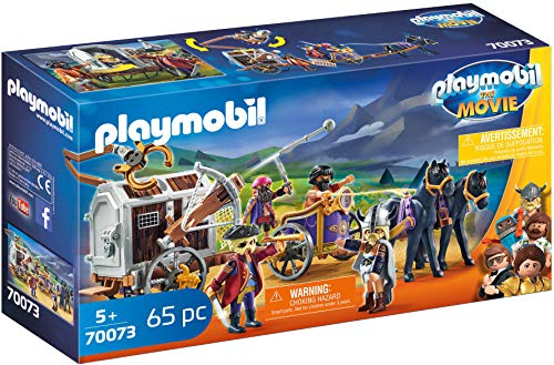 Playmobil - THE MOVIE Charlie con Carro Prisión 70073