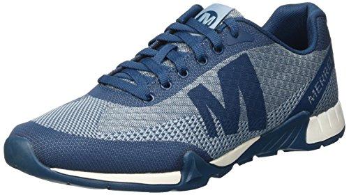 Merrell Versent - Zapatillas de deporte exterior para hombre, Azul (Legion Blue), 41