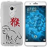 PhoneNatic Case kompatibel mit HTC One X10 Silikon-Hülle Tierkreis Chinesisch M9