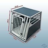 Hundebox / Alubox / Hundetransportbox / Autobox + Einlegematte Inbus-Verschraubung Größe XL