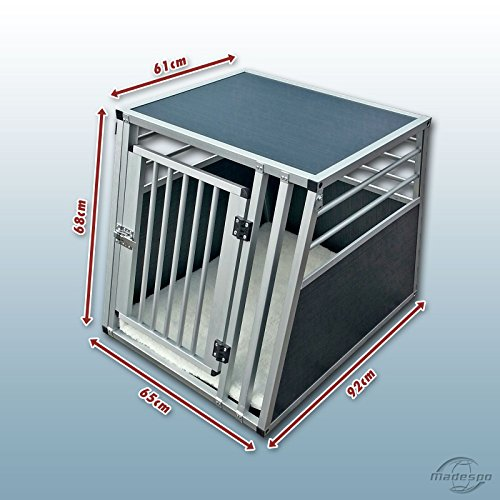 hundeinfo24.de Hundebox / Alubox / Hundetransportbox / Autobox + Einlegematte Inbus-Verschraubung Größe XL