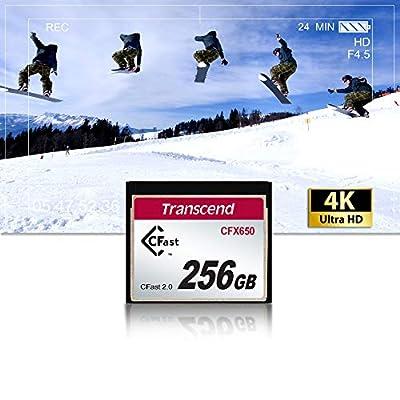 Transcend 256GB CFast 2.0 CFX650 Memory Card