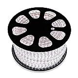 LEDKIA Streifenrolle LED 220V AC -SMD5050 60 LED / m RGB (50 Meter)