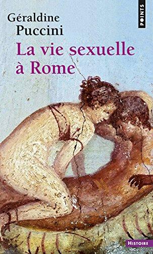 La Vie sexuelle à Rome