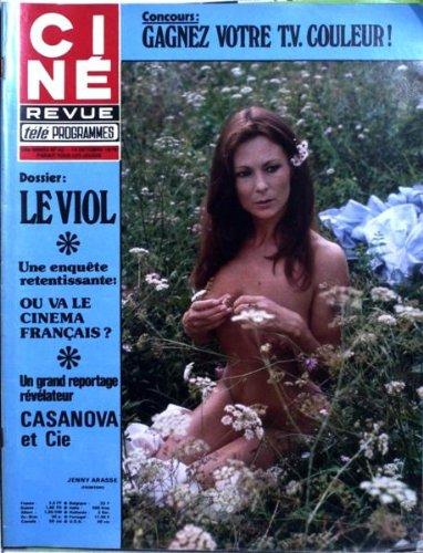 CINE TELE REVUE [No 42] du 14/10/1976 - LE VIOL. OU VA LE CINEMA FRANCAIS ? JENNY ARASSE. TONY CURTIS DANS - CASANOVA ET CIE -