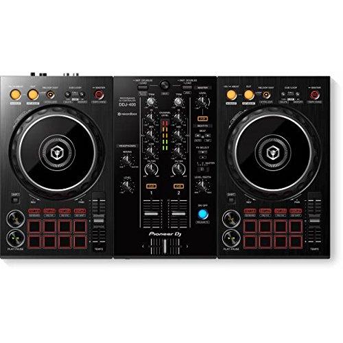 Pioneer DJ - Controller Portatile a 2 canali - Mixer - Accessorio per DJ - Funziona con Rekordbox DJ - Effetti professionali