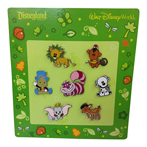 7-teiliges Disney Pin Starter Set Baby Tiere 2010 -