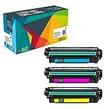 Do it Wiser ® 3 Kompatible Toner für HP 507 Laserjet Enterprise 500 Color M551 M551n M551dn M551xh MFP M570 M570dn M570dw M575 M575c M575f M575dn | CE401A CE402A CE403A