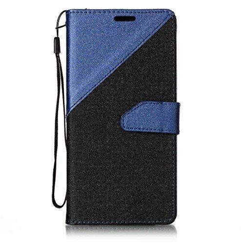Nancen Compatible with Handyhülle Galaxy S8 (5,8 Zoll) Hülle PU Leder Tasche Schutzhülle Flip Case Wallet für, Magnetverschluss Standfunktion Brieftasche und Karten Slot