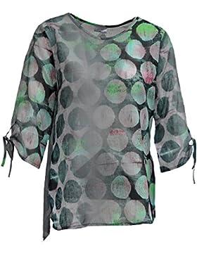 Seidel Moden - Camisas - Lunares - Cuello redondo - para mujer