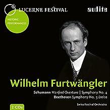 Wilhelm Furtwängler dirige Schumann et Beethoven.