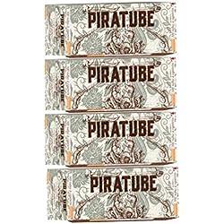 Piratube - 1200 tubos de cigarrillos prémium, con papel francés y filtro de alta gama