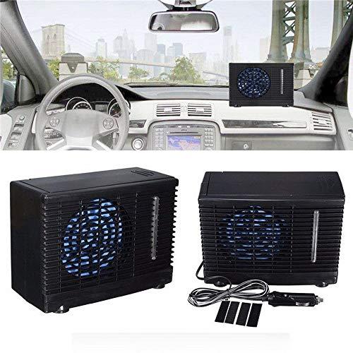 XD7 Tragbare Klimaanlage für Wohnmobile, Boote, Reisende, 12 V Autoklimagerät Auto Ventilator oszillierender LKW Zuhause Clip-On Ventilator Sommer Auto Fahrzeug Luftkühlung Kühlgerät Gerät