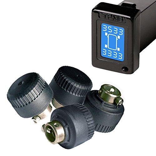 Toyota drahtlose Reifendruck System LED Anzeige 4 externe Sensoren Tpms Autozubehör DIY Reifendruck Messgerät Für Toyota