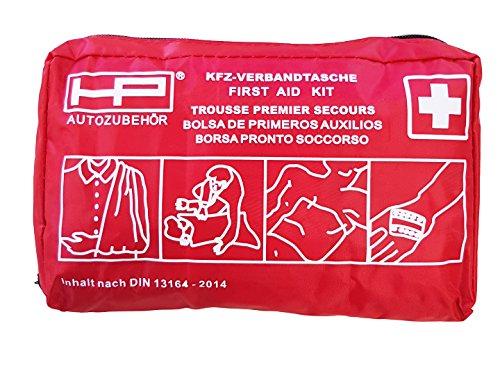 erste hilfe auto set HP-Autozubehör 10029 KFZ-Verbandtasche nach DIN 13164-2014
