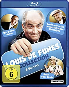 Louis de Funès Collection - 3 Blu-rays