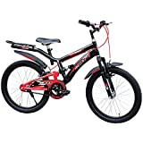 Tata Stryder Joey 20T DS Kids Bicycle For 5-7 Years (Black Red) - Ready To Ride