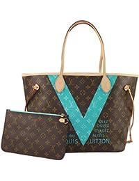 Louis Vuitton - Bolso al hombro para mujer turquesa