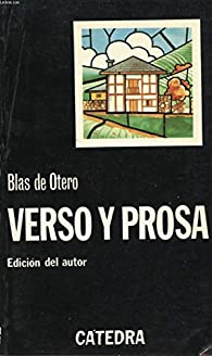 Verso y Prosa par  Blas de Otero
