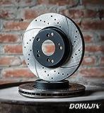 Belüftete Bremsscheiben (HINTEN) für ASTRA J - 2 Stück für die Hinterräder DOKUJI RS in Spitzenqualität.